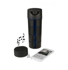 flask with Bluetooth® speaker