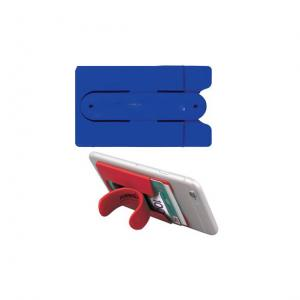 SILICONE CELL PHONE KICKSTAND AND WALLET