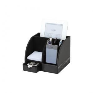 Leatherette Desktop Organizer
