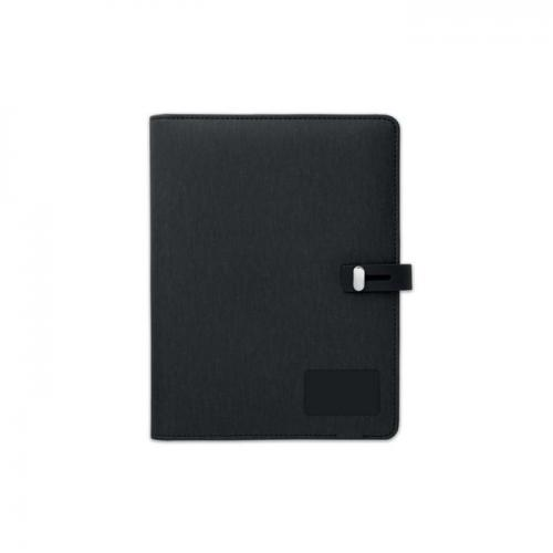 A5 NOTEBOOK WITH WIRELESS CHARGER