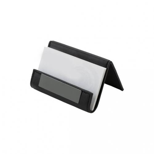 DESKTOP BUSINESS CARD AND PHONE/TABLET HOLDER