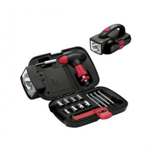 Auto Tool Kit with Built-In Light