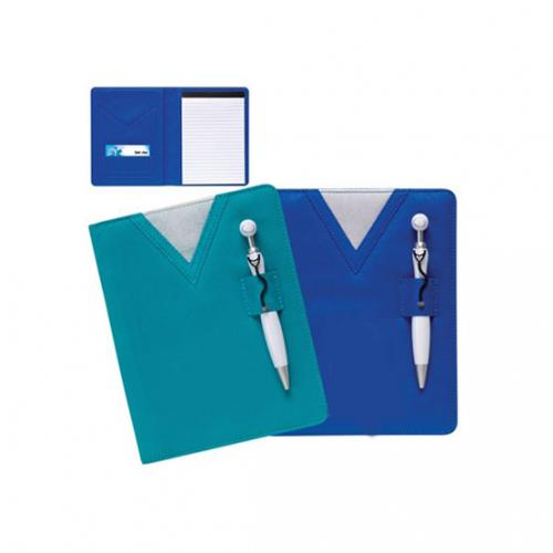NOTEBOOK WITH STETHOSCOPE PEN