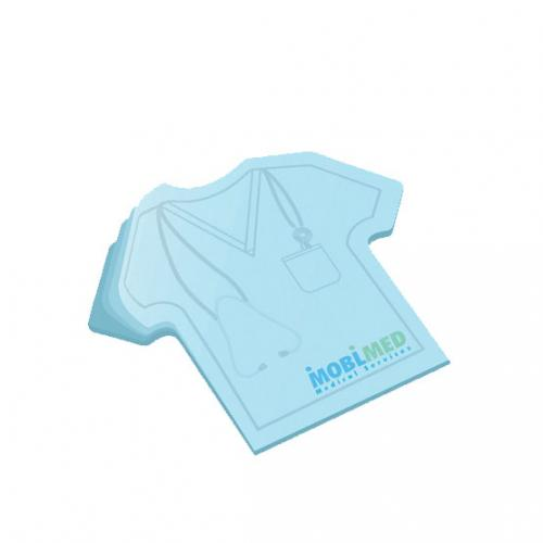 LARGE T-SHIRT POST-IT® NOTEPAD - 50 SHEET