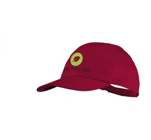 Basic 5-panel cotton cap