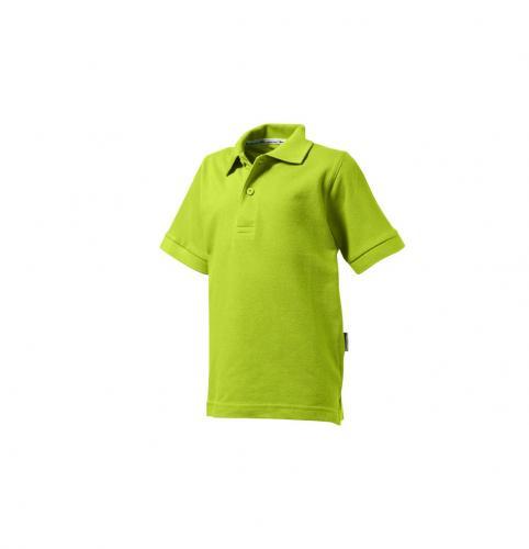 Short sleeve kids polo.