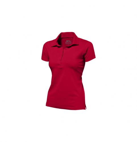 short sleeve women's jersey polo.