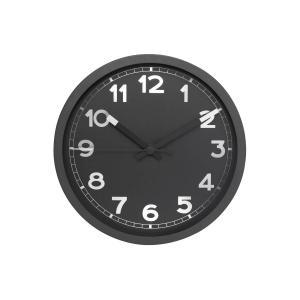 Wall clock with aluminium dial