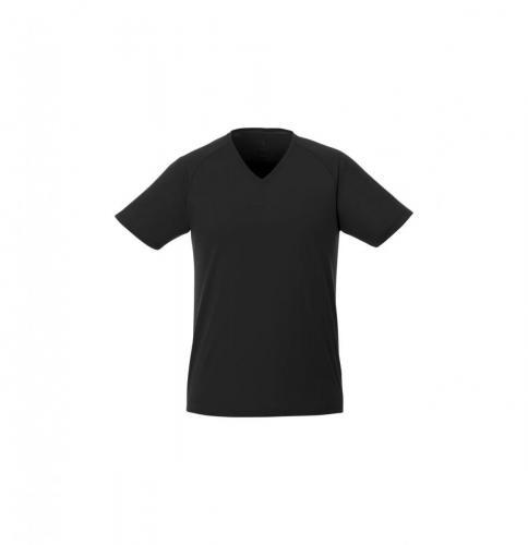 short sleeve women's cool fit V-neck shirt. .