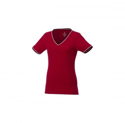 short sleeve women's pique t-shirt.