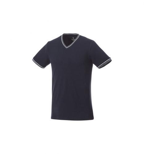 short sleeve men's pique t-shirt.