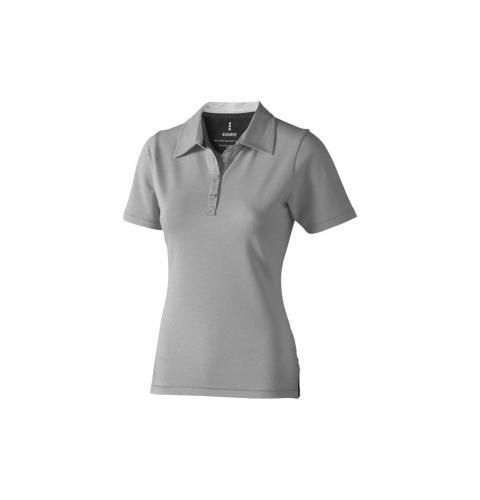 short sleeve women's stretch polo.