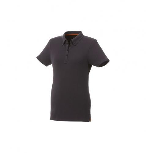 short sleeve button-down women's polo.