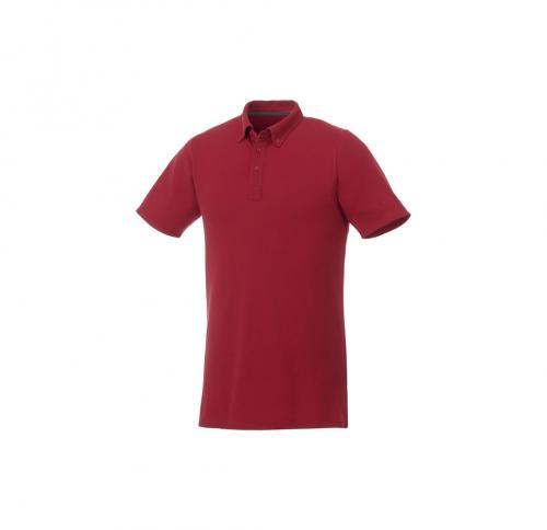 short sleeve button-down men's polo.