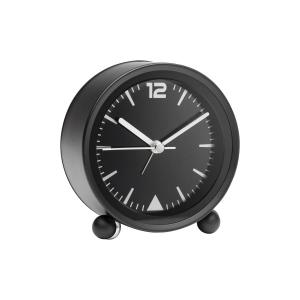 Desk clock with silent movement